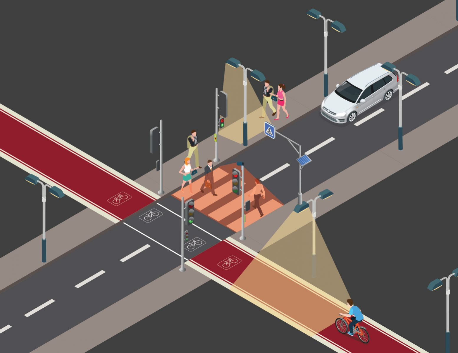 Icoms Detections TMA-011 Radar Detection for Pedestrians and Bicycles