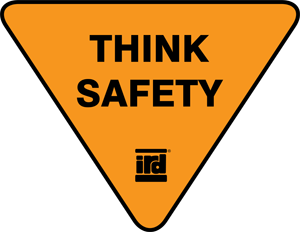 IRD's Think Safety Logo